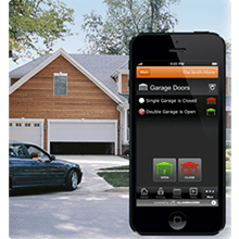 Smart Garage Door at Citywide Alarms Home Security