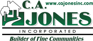 CA Jones Inc Stacked Logo